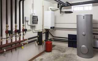 Варианты схем отопления двухэтажного дома с газовым котлом