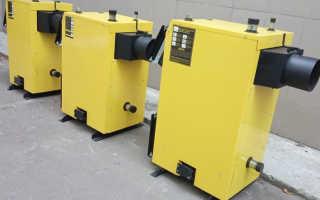 Котлы мощностью от 10 до 150 кВт