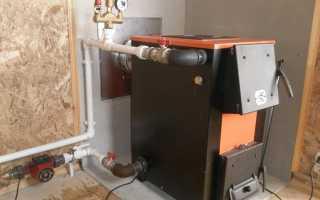 Система отопления дома твердотопливным котлом своими руками