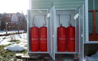 Какие котлы могут работать от газового баллона