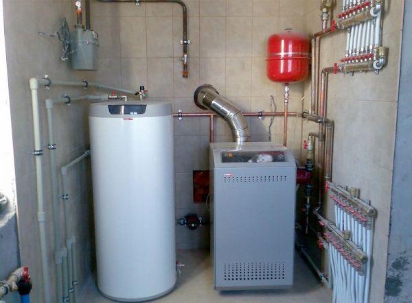Энергозависимый газовый котел