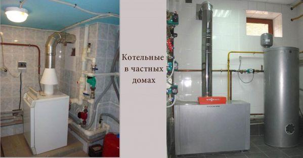 Примеры оборудованных котельных