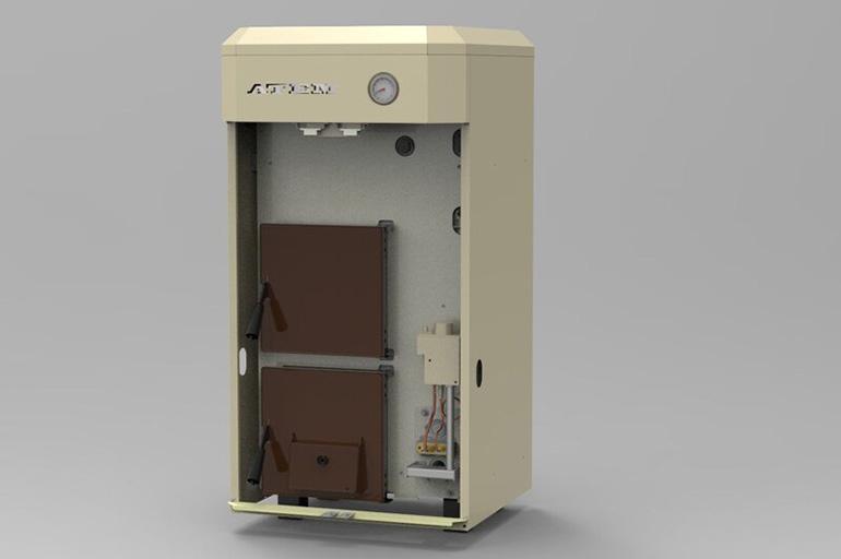Комбинированный котел газ твердое топливо