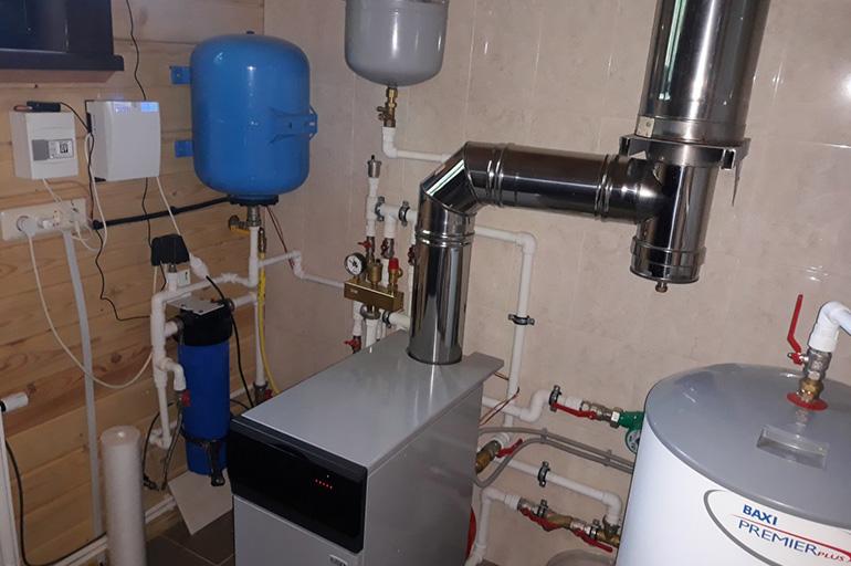 Возможность установки водяного контура